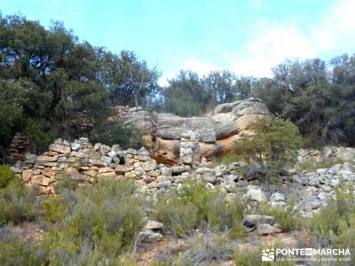 Monumento Natural Tetas de Viana - Trillo; excursiones cerca de madrid